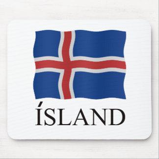 Tapis De Souris Island Iceland flag