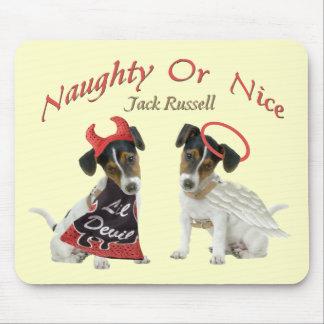 Tapis De Souris Jack Russell Terrier vilain ou Nice