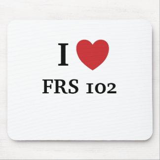 Tapis De Souris J'aime FRS102 - le coeur FRS 102 d'I