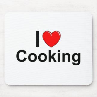 Tapis De Souris J'aime la cuisine de coeur