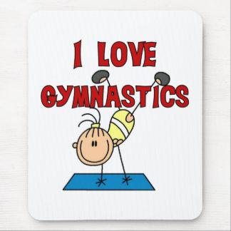 Tapis De Souris J'aime la gymnastique