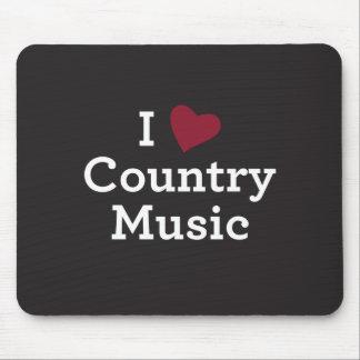Tapis De Souris J'aime la musique country