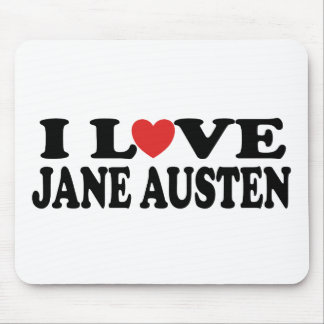 Tapis De Souris J'aime le classique de Jane Austen