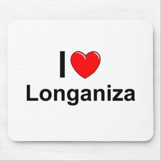 Tapis De Souris J'aime le coeur Longaniza