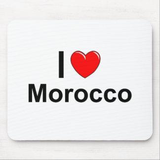 Tapis De Souris J'aime le coeur Maroc