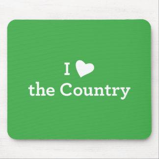 Tapis De Souris J'aime le pays