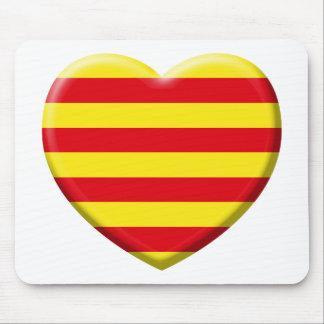 Tapis De Souris J'aime les Catalans