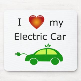 Tapis De Souris J'aime ma voiture électrique