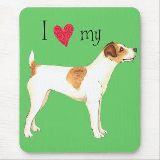 Tapis De Souris J'aime mon Jack Russell Terrier