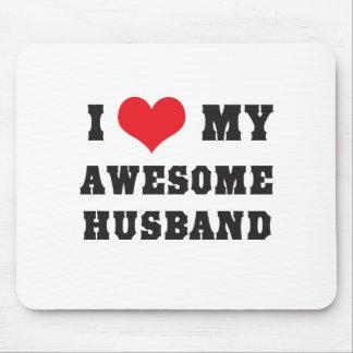 Tapis De Souris J'aime mon mari impressionnant