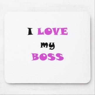 Tapis De Souris J'aime mon patron