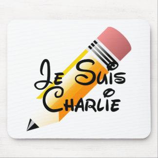 Tapis De Souris Je Suis Charlie Mousepad
