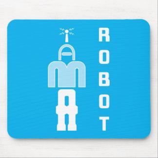 """Tapis De Souris """"JE SUIS puzzle Mousepad d'un ROBOT"""""""
