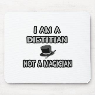 Tapis De Souris Je suis un diététicien… pas un magicien
