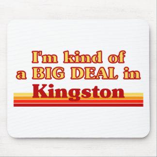 Tapis De Souris Je suis un peu une affaire à Kingston