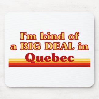 Tapis De Souris Je suis un peu une affaire au Québec