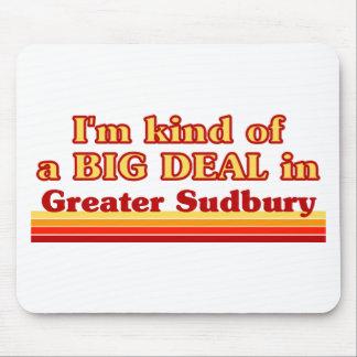Tapis De Souris Je suis un peu une affaire dans plus grand Sudbury