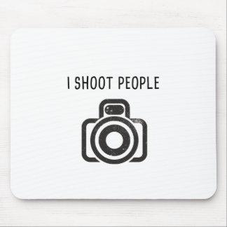 Tapis De Souris Je tire des personnes - appareil-photo