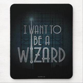 Tapis De Souris Je veux être un magicien