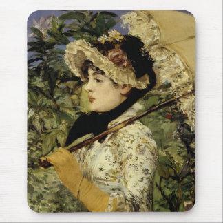 Tapis De Souris Jeanne : Le printemps 1881 par Manet