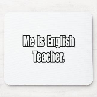 Tapis De Souris J'est professeur d'Anglais