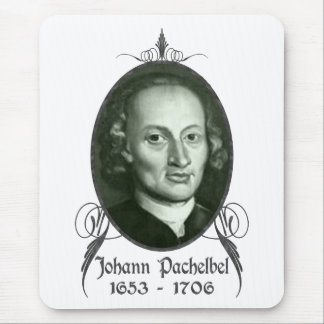 Tapis De Souris Johann Pachelbel