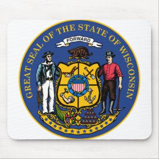 Tapis De Souris Joint d'état du Wisconsin -