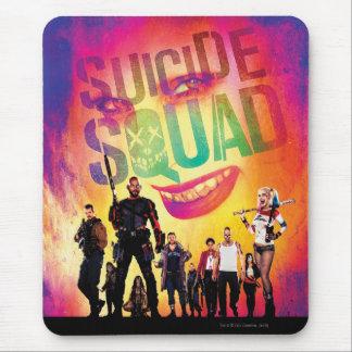 Tapis De Souris Joker du peloton   de suicide et affiche de film