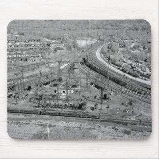 Tapis De Souris Jonction de zoo de chemin de fer de la