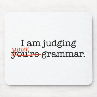 Tapis De Souris Jugement de votre grammaire