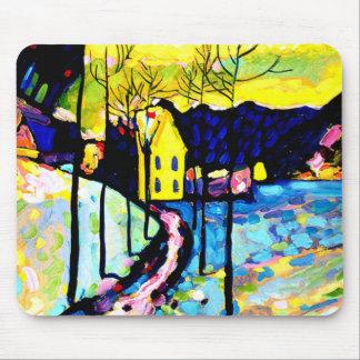 Tapis De Souris Kandinsky - paysage d'hiver