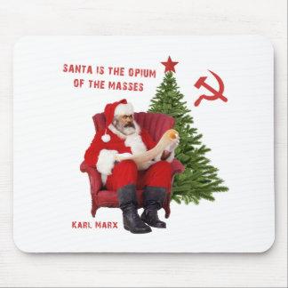 Tapis De Souris Karl Marx Père Noël