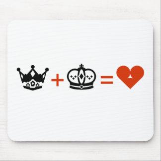Tapis De Souris king_plus_queen_equals_love2.ai