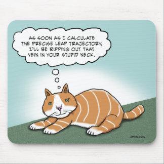 Tapis De Souris Kitty mauvais drôle