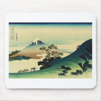 Tapis De Souris Koshu Inume Toge - art de Katsushika Hokusai