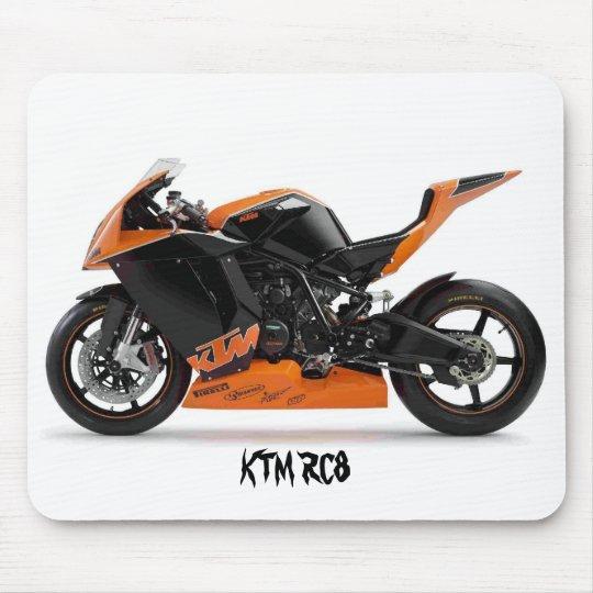 TAPIS DE SOURIS KTM RC8