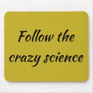 Tapis De Souris La citation noire orpheline suivent la science