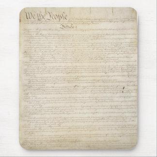 Tapis De Souris La constitution d'Etats-Unis