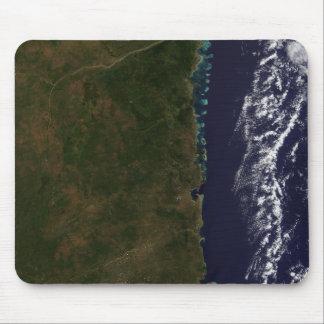 Tapis De Souris La côte de la Mozambique
