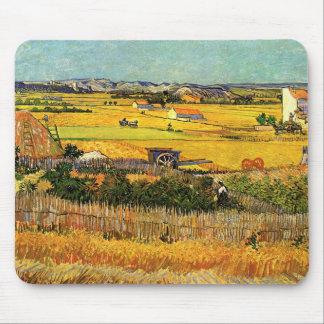 Tapis De Souris La Crau, Montmajour, beaux-arts de récolte de Van