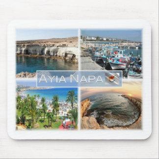 Tapis De Souris La CY Chypre - Ayia Napa - port de cavernes -