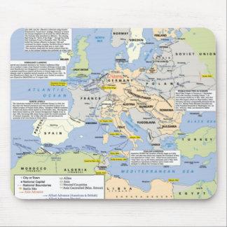 Tapis De Souris La deuxième guerre mondiale dans le tapis de