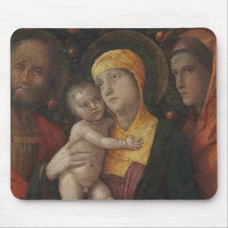 Tapis De Souris La famille sainte avec le saint Mary Magdalene