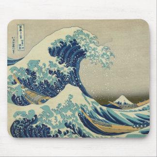 Tapis De Souris La grande vague outre de Kanagawa
