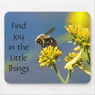 Tapis De Souris La joie de découverte dans les petites choses