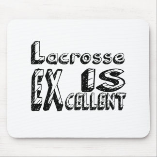 Tapis De Souris La lacrosse est excellente