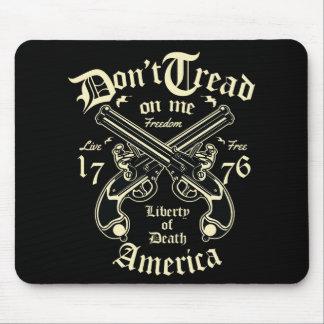 Tapis De Souris La liberté de la mort Etats-Unis vivent librement