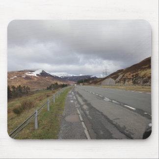 Tapis De Souris La longue route des montagnes