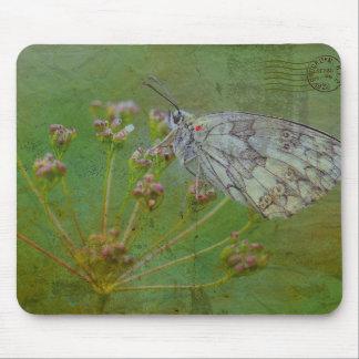 Tapis De Souris La nature a inspiré la mite sur une fleur Mousepad
