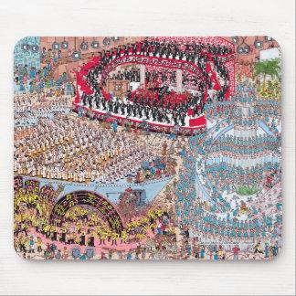 Tapis De Souris Là où est la chanson et la danse énormes de Waldo